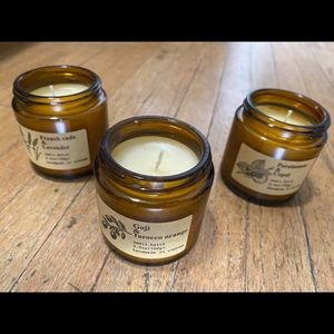 Soy wax candle set